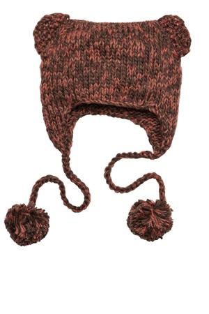 District DT626 Hand Knit Cat-Eared Beanie