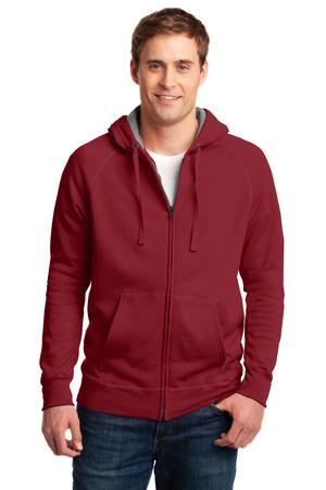 Hanes HN280 Nano Full-Zip Hooded Sweatshirt