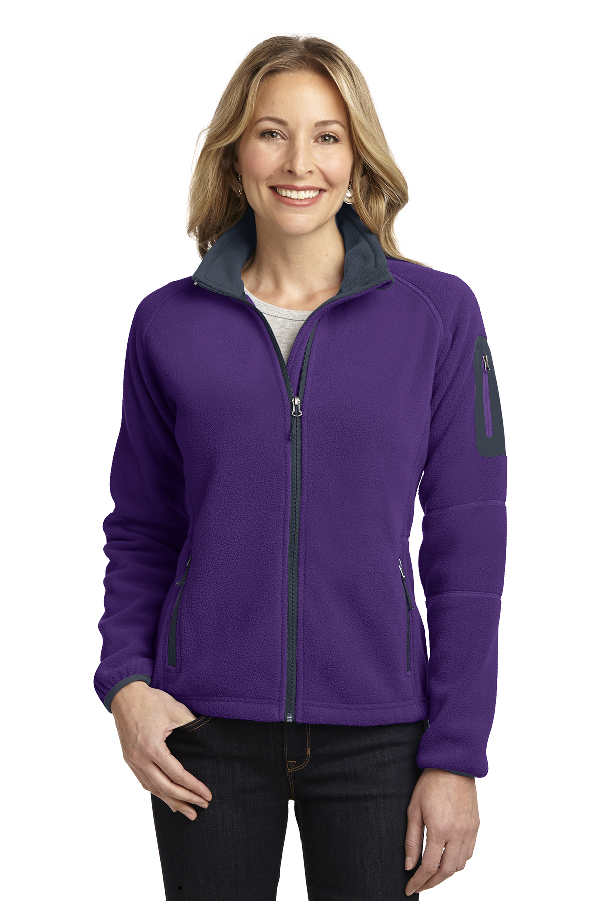 Port Authority L229 Ladies Enhanced Value Fleece Full-...