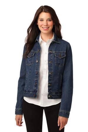 Port Authority L7620 Ladies Denim Jacket