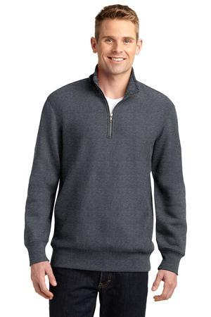 Port Authority ST283 Super Heavyweight Quater-Zip Pullover ...