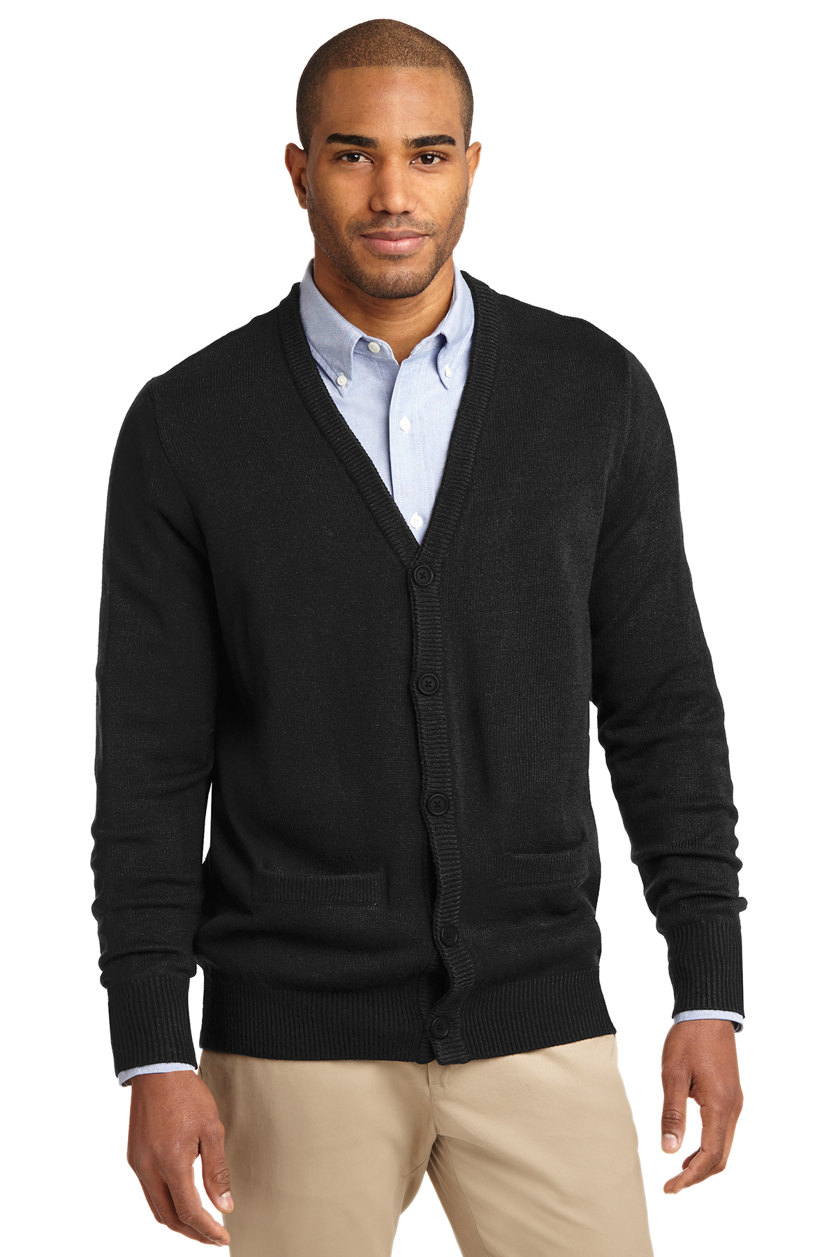 f0d7a1b8f6 Port Authority SW302 Value V-Neck Cardigan with Pockets