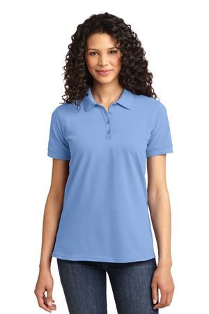 Port & Company LKP155 Ladies 50/50 Pique Polo