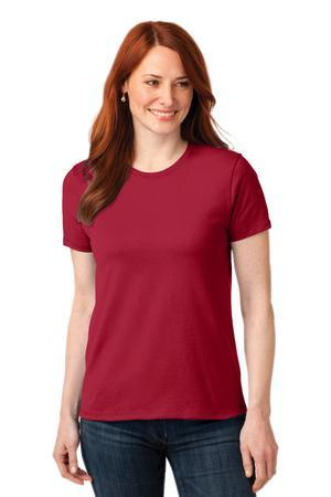Port & Company LPC55 Ladies 50/50 Cotton/Poly T-Shirt