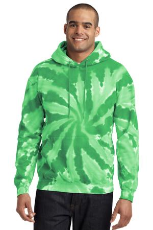 Port & Company PC146 Essential Tie-Dye Pullover Hooded ...