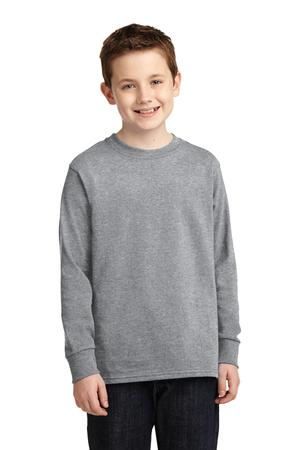 Port & Company PC54YLS Youth Long Sleeve 5.4-oz 100% ...