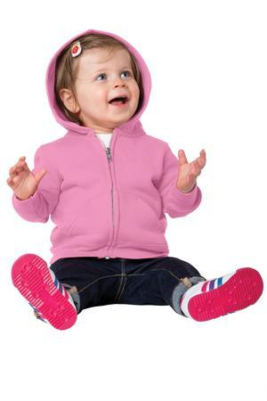 Precious Cargo CAR78IZH Infant Full-Zip Hooded Sweatshirt