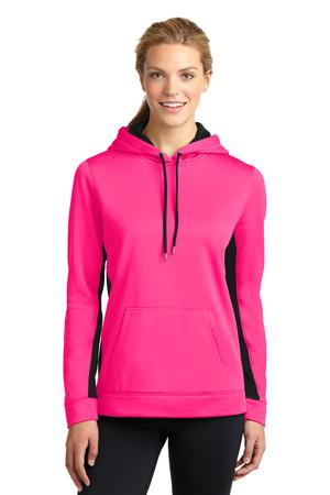 Sport-Tek LST235 Ladies Sport-Wick Fleece Colorblock ...