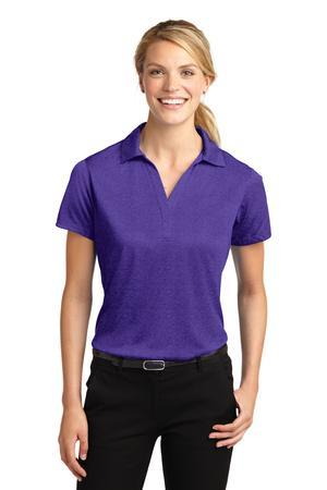 Sport-Tek LST660 Ladies Heather Contender Polo