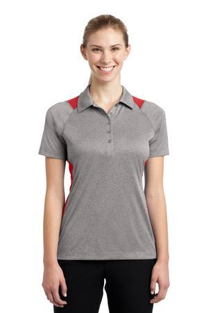 Sport-Tek LST665 Ladies Heather Colorblock Contender ...