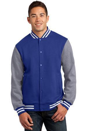Sport-Tek ST270 Fleece Letterman Jacket