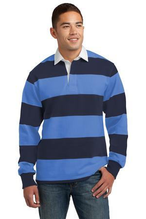 Sport-Tek ST300 Long Sleeve Rugby Polo