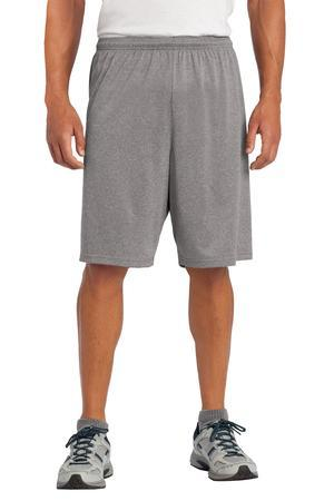 Sport-Tek ST365 Heather Contender Short