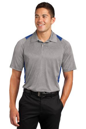 Sport-Tek ST665 Heather Colorblock Contender Polo