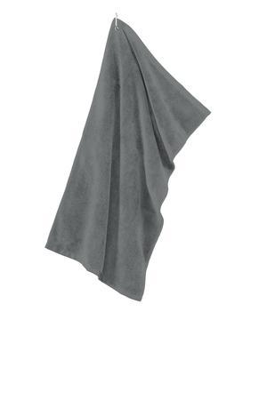Port Authority TW530 Grommeted Microfiber Golf Towel