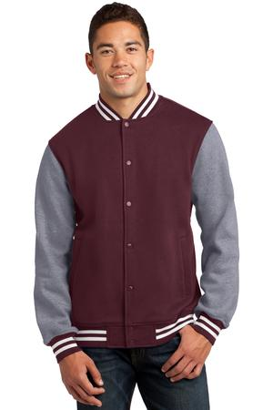 Sport-Tek ST270 Fleece Letterman Jacket
