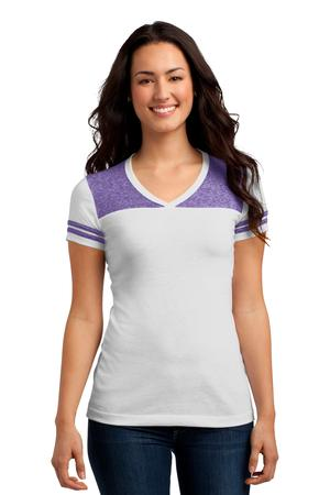 District DT264 Juniors Varsity V-Neck Tee