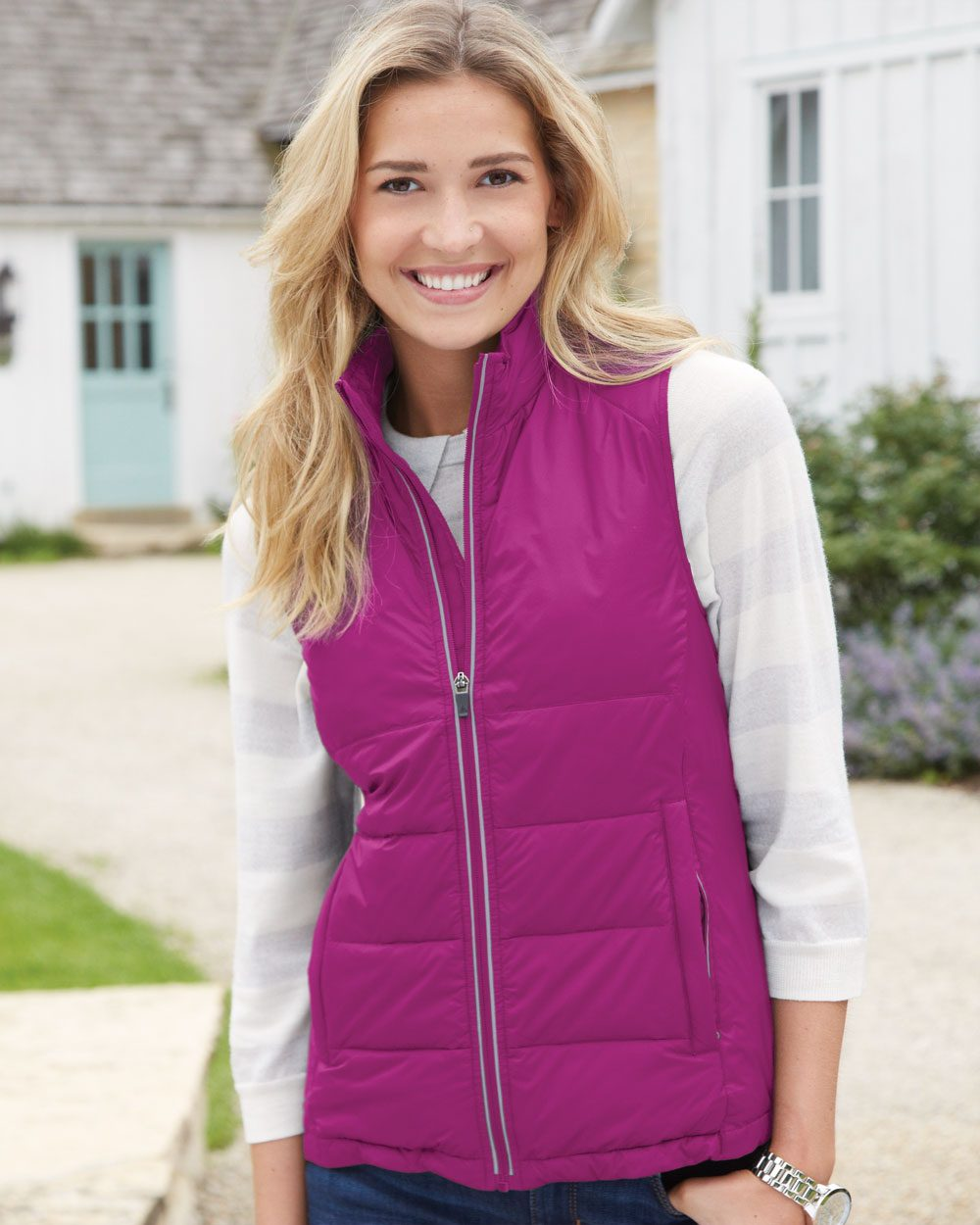 Colorado Clothing 7312 Ladies' Durango Packable Puffer Vest