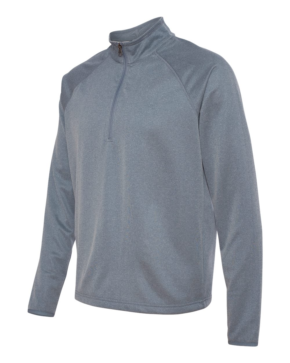 Colorado Clothing 7393 Heather Fleece Quarter-Zip Pullover