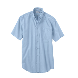 Forsyth F1200 Men's Short Sleeve Solid Oxford Sport ...