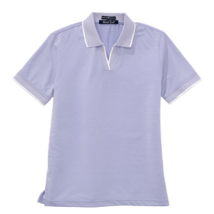 River's End 3396 Women's Jacquard Tipped Polo