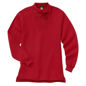 River's End 3602L Men's Long Sleeve Easy-Care Sport Polo