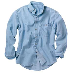 River's End 4010 Men's Long Sleeve Denim and Twill Shirts