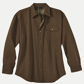 River's End 4070 Men's Canvas Long Sleeve Shirt Jacket ...