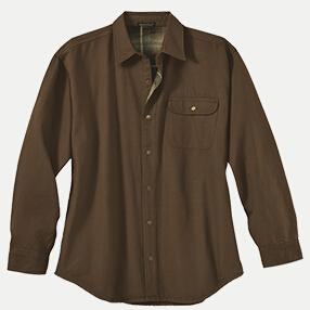River's End 4070 Men's Canvas Long Sleeve Shirt Jacket ...