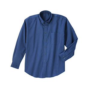 River's End 525 Men's Solid Color Rich Oxford LS Shirt