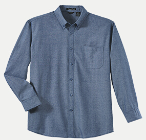River's End 526 Men's Yarn Dyed Chambray Long Sleeve ...