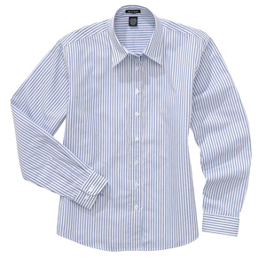 River's End 636 Women's Striped Poplin Shirt