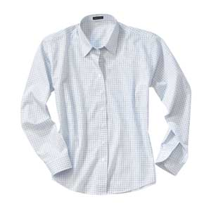 River's End 637 Women's Checkered Poplin Shirt