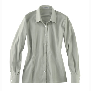 River's End 639 Ladies' Micro Stripe Broadcloth Shirt