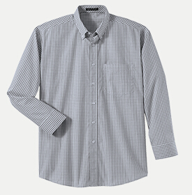 River's End 742 Men's Yarn-dye Check Long-Sleeve Shirt