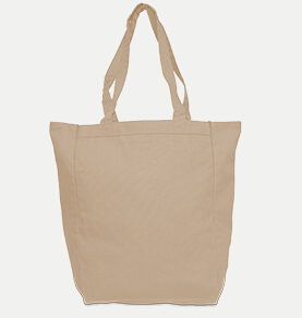 River's End 8861 Canvas Gusset Tote
