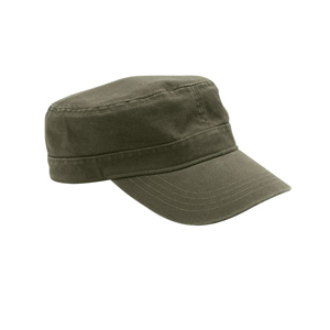 River's End RE008 Bio-Washed Military Cap