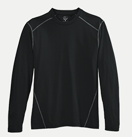 River's End SPORT 1110LS Men's L/S Crew Neck Tee