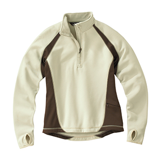 Storm Creek 2415 Ladies' BodyFit Fleece Quarter-Zip ...