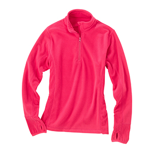 Storm Creek 4608 Women's Drop-Needle Microfleece Half-...