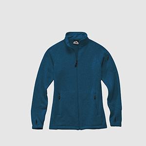 Storm Creek 4625 Women's Sweater Fleece Full-zip Jacket