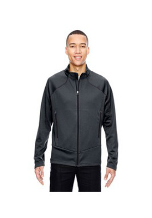 Ash City North End Sport Red 88806 Mens Interactive Cadence Two Tone Brush Back Jacket