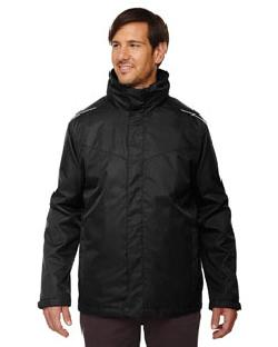 Ash City Core 365 88205T - Men's Tall Region 3-in-1 Jacket with Fleece Liner