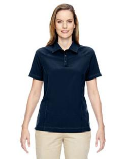Ash City North End 75120 - Ladies' Excursion Crosscheck Woven Polo