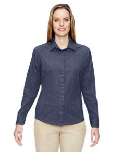 Ash City North End 77045 - Ladies' Excursion Utility Two-Tone Performance Shirt