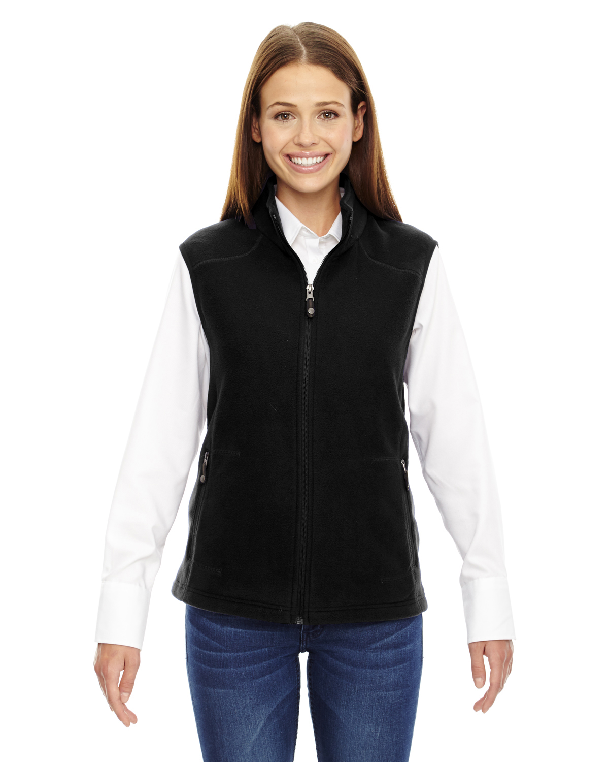 Ash City North End 78173 - Ladies' Voyage Fleece Vest