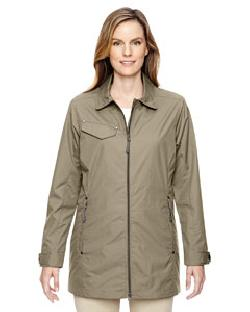Ash City North End 78218 - Ladies' Excursion Ambassador Lightweight Jacket with Fold Down Collar