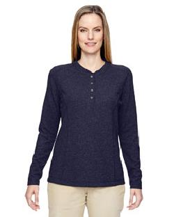 Ash City North End 78221 - Ladies' Excursion Nomad Performance Waffle Henley