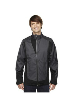 Ash City North End Sport Blue 88686 - Men's Commute Three-Layer Light Bonded Two-Tone Soft Shell Jacket with Heat Reflect Techno