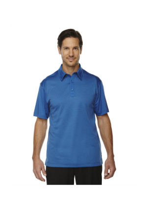 Ash City North End Sport Red 88676 - Men's Symmetry UTK cool logik Coffee Performance Polo